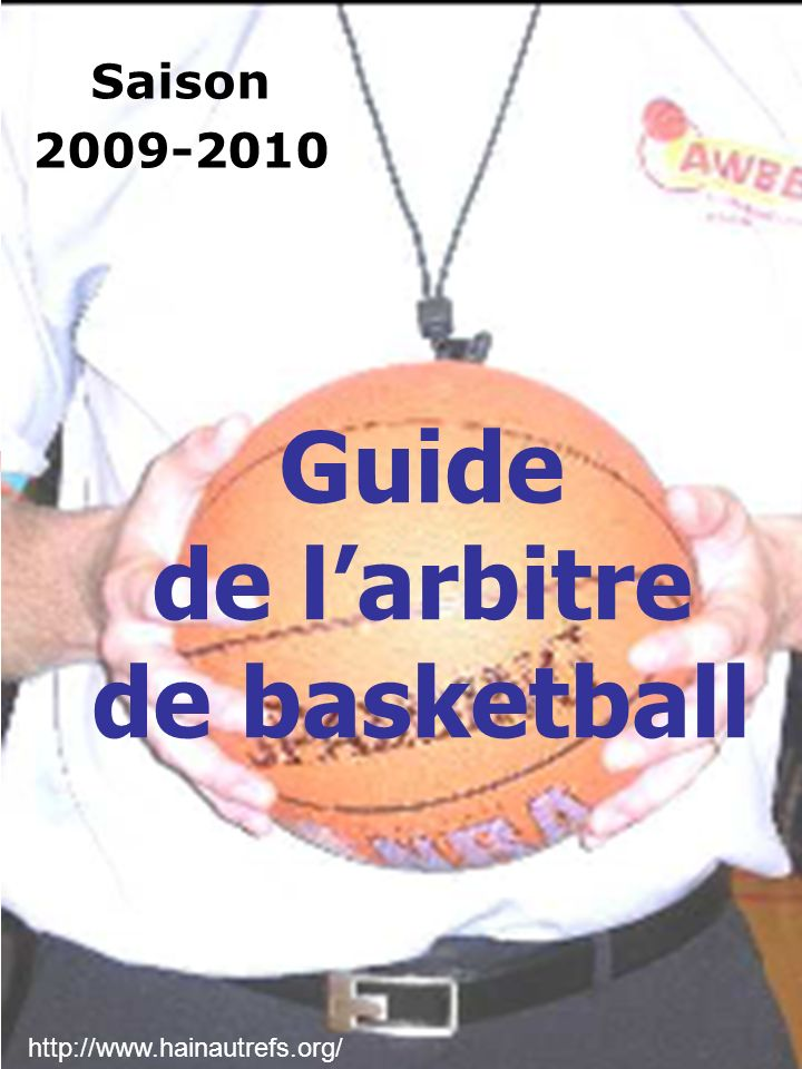Guide de l'arbitre de basketball