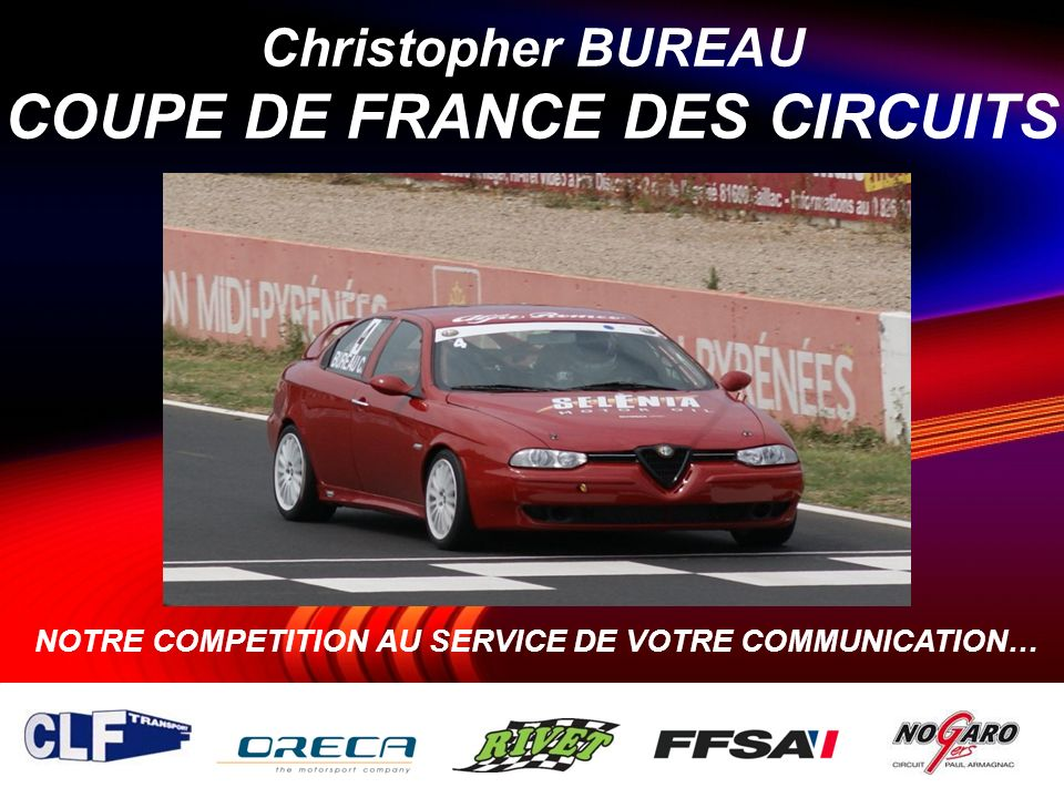 Christopher BUREAU COUPE DE FRANCE DES CIRCUITS