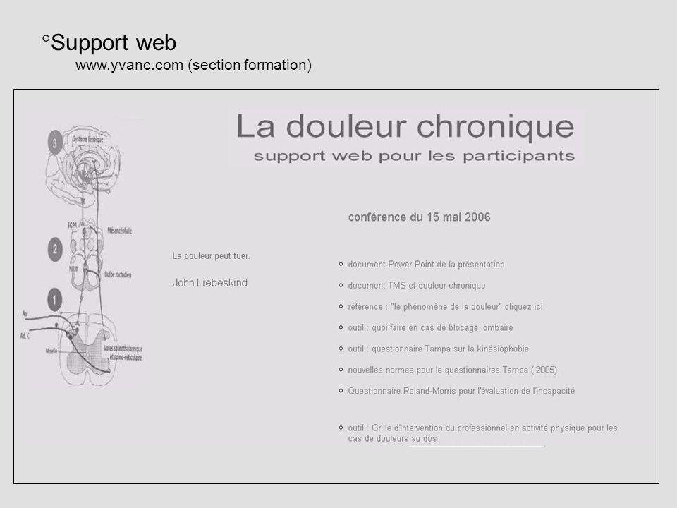 Support web   (section formation)