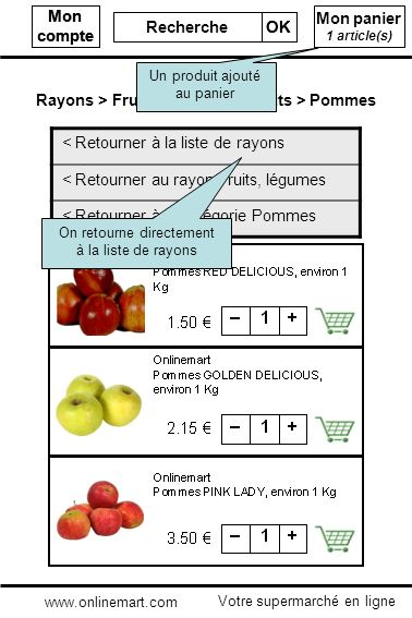 Rayons > Fruits, légumes > Fruits > Pommes