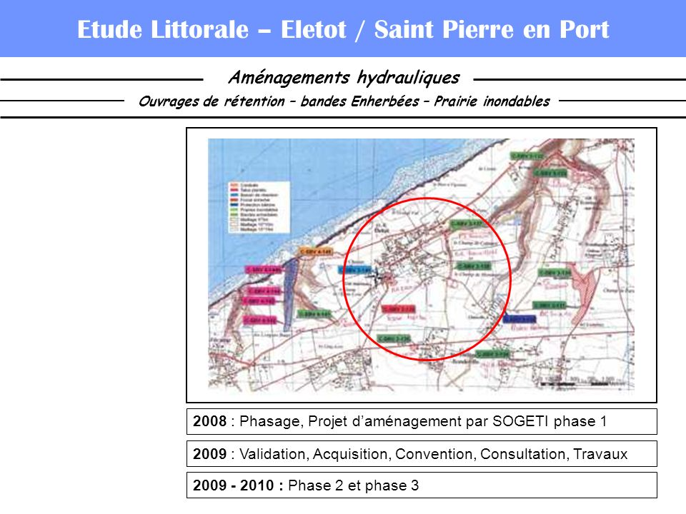 Etude Littorale – Eletot / Saint Pierre en Port
