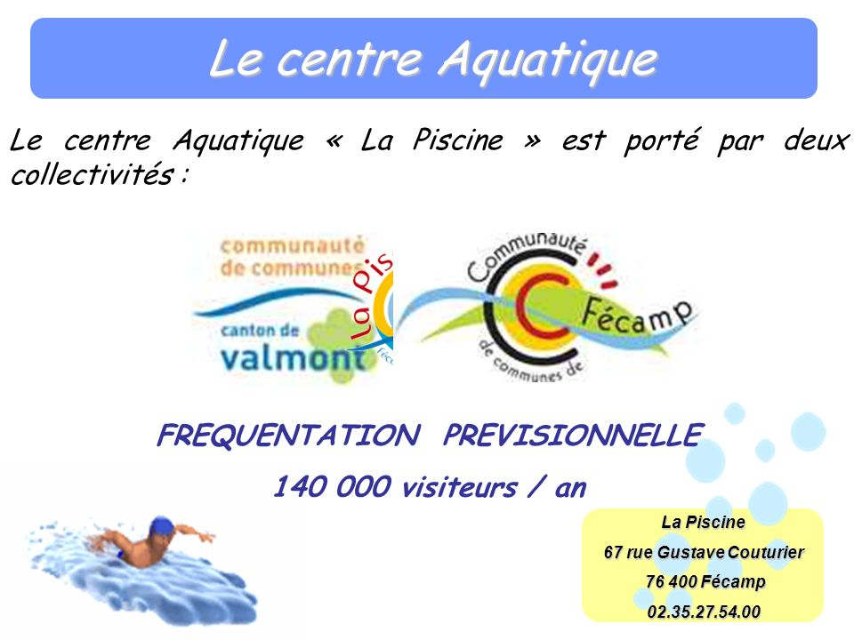 FREQUENTATION PREVISIONNELLE