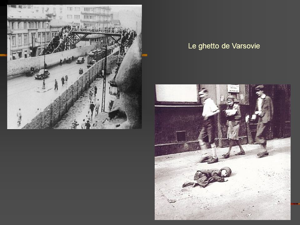 Le ghetto de Varsovie