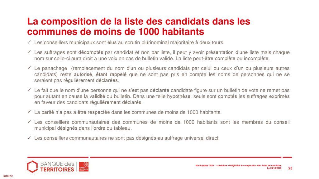 Modele Bulletin De Vote Elections Municipales 2020