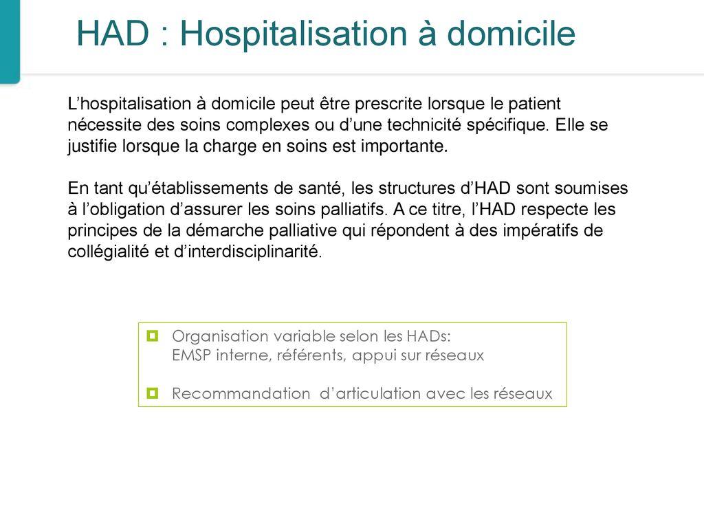 Les soins palliatifs en HAD Possibilités et limites - ppt télécharger