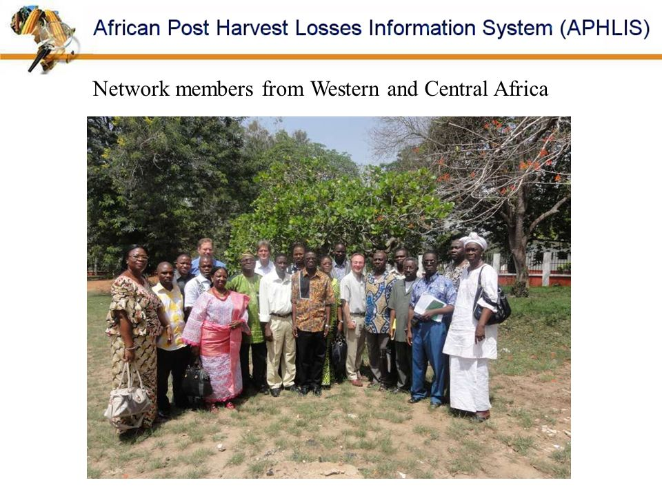 Network members from Western and Central Africa