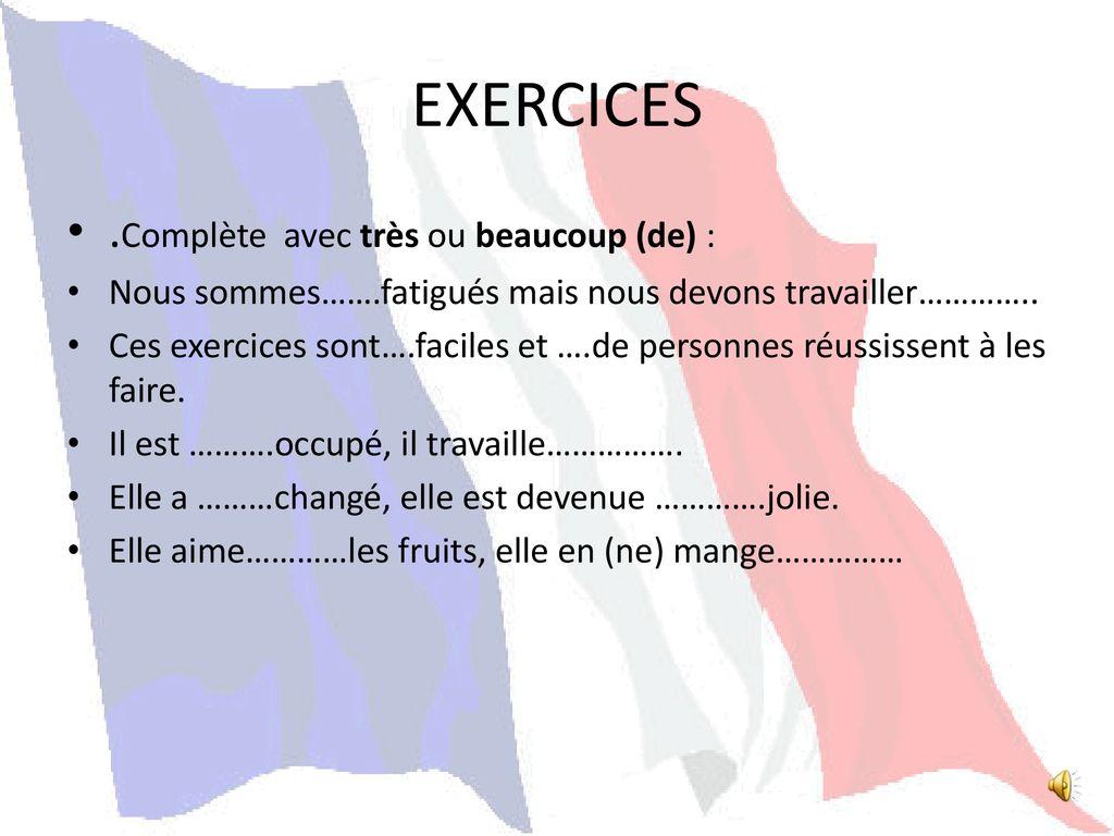 Pytanie o język #7 - Beaucoup czy très? - ćwiczenie 2 - Francuski przy kawie