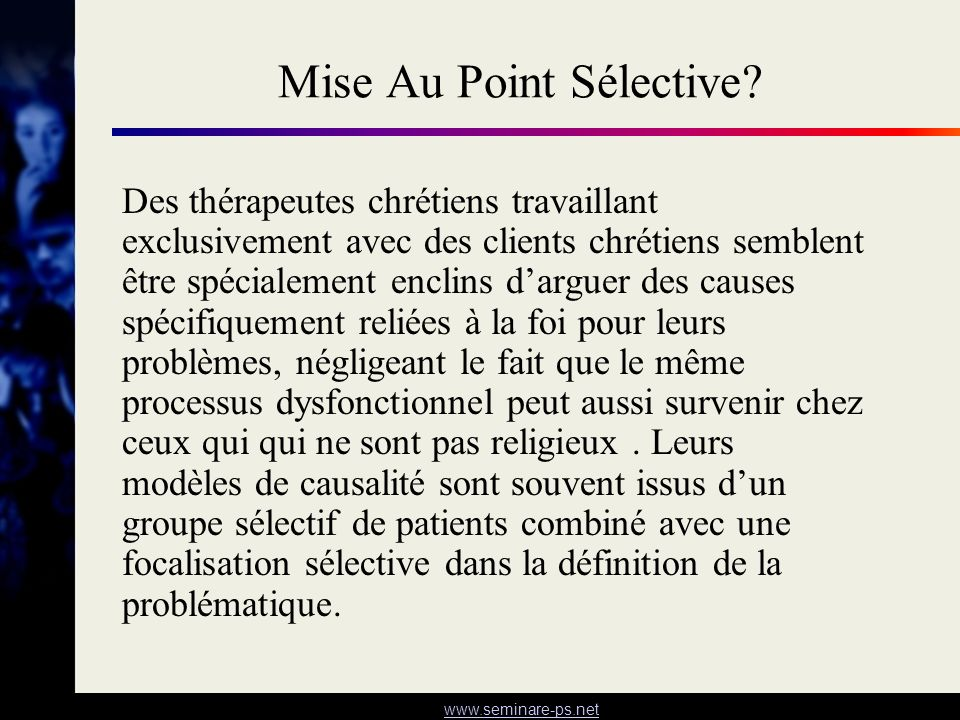 Mise Au Point Sélective