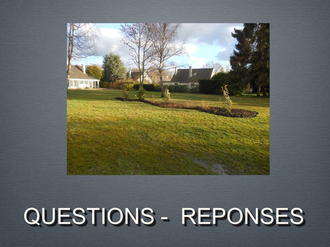QUESTIONS - REPONSES
