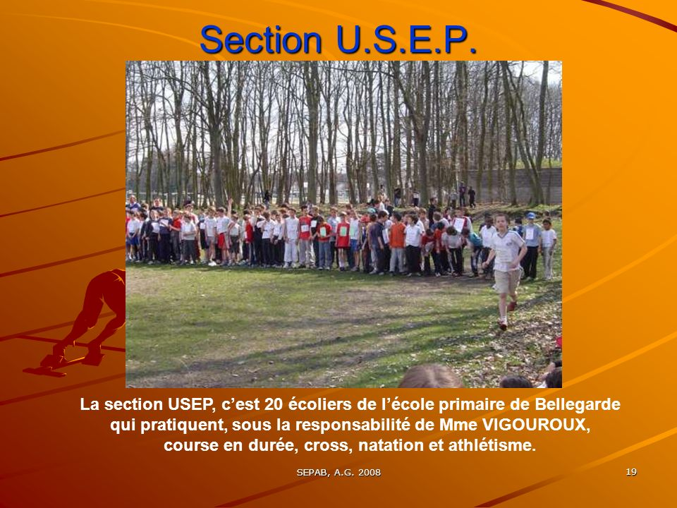 Section U.S.E.P.