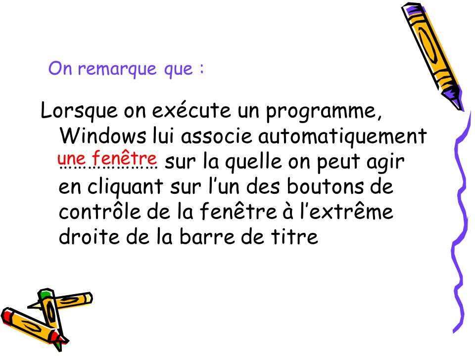 On remarque que :