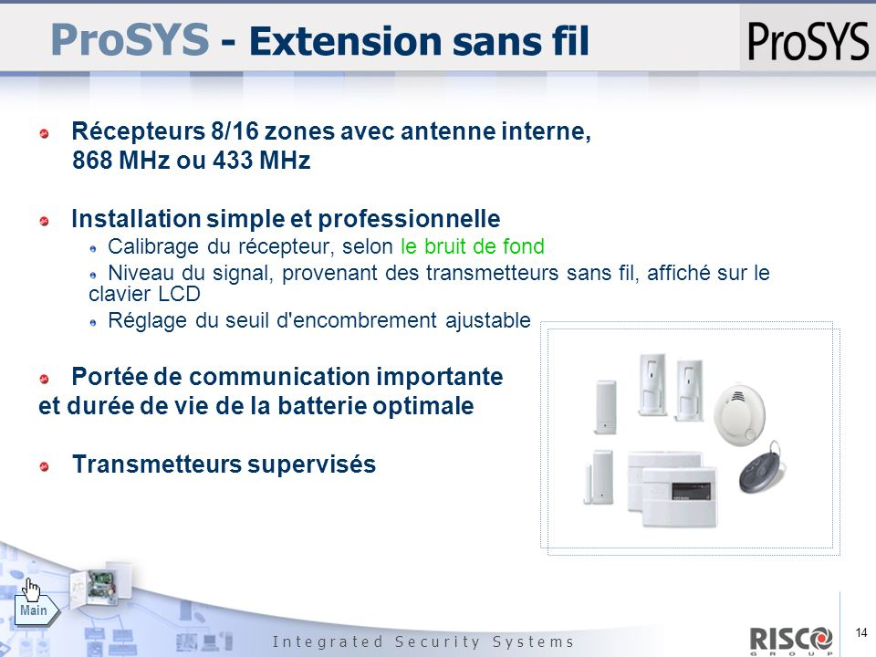 ProSYS - Extension sans fil