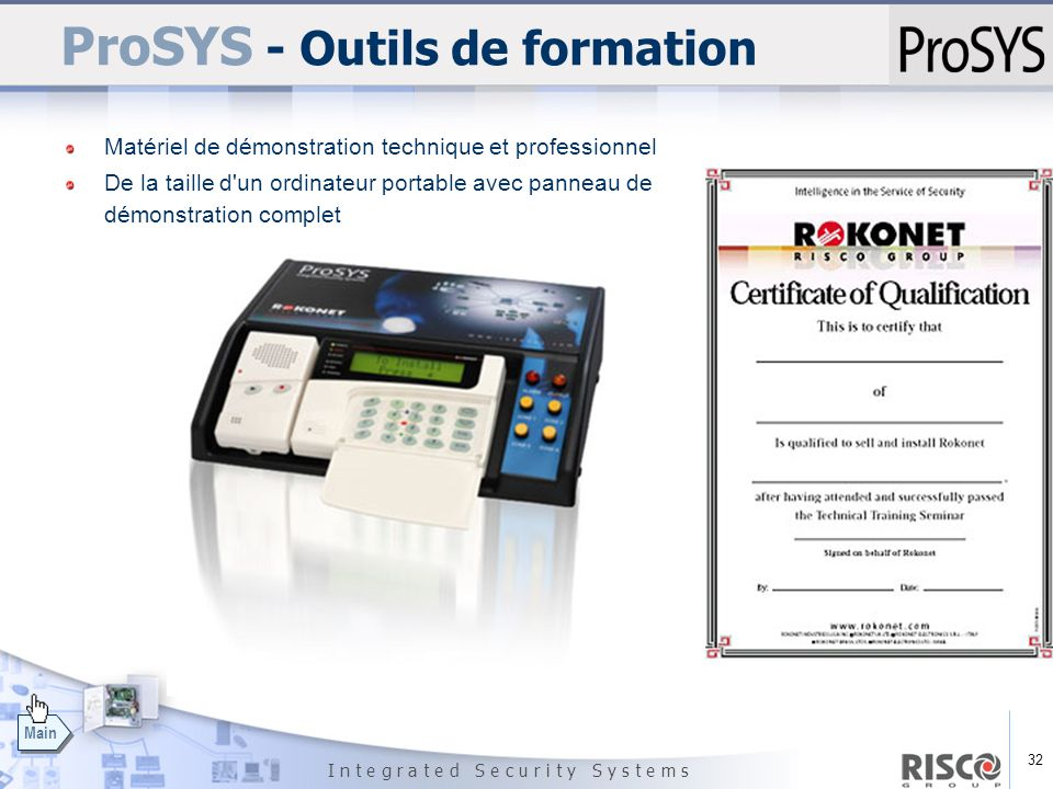ProSYS - Outils de formation