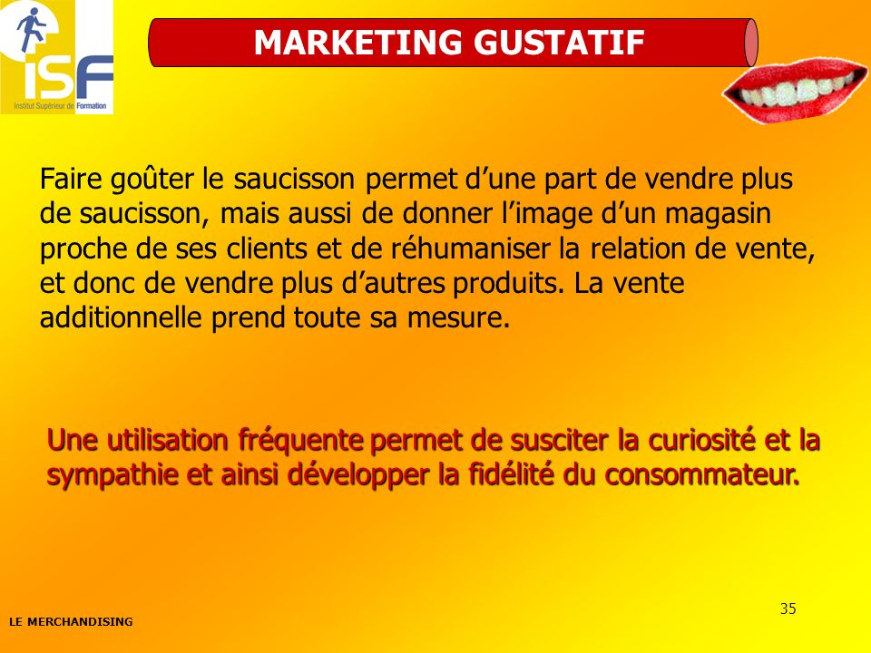 MARKETING GUSTATIF