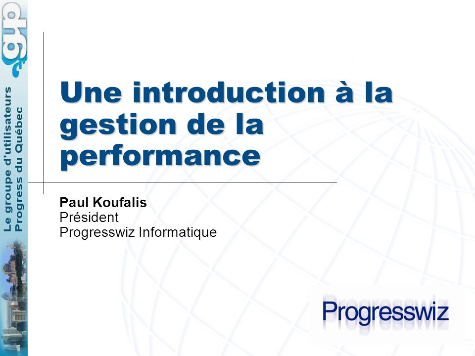 Une introduction à la gestion de la performance