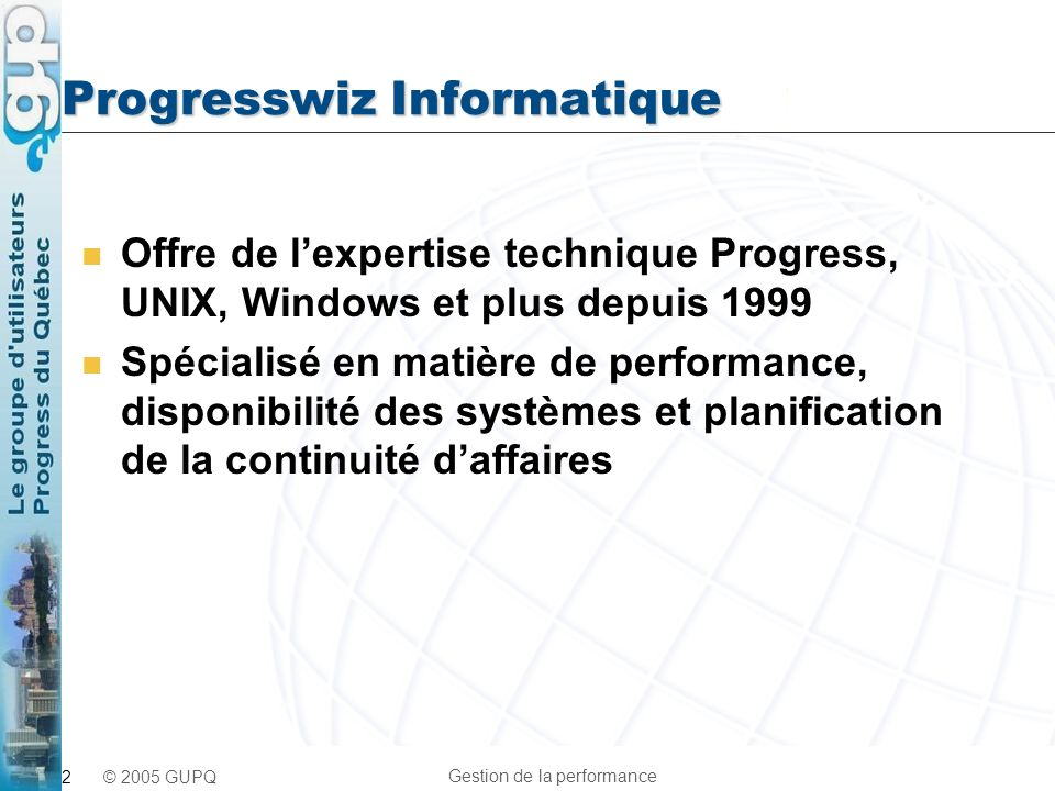 Progresswiz Informatique