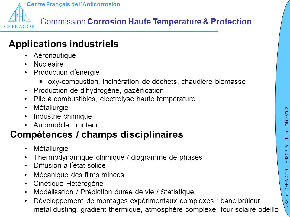 Applications industriels