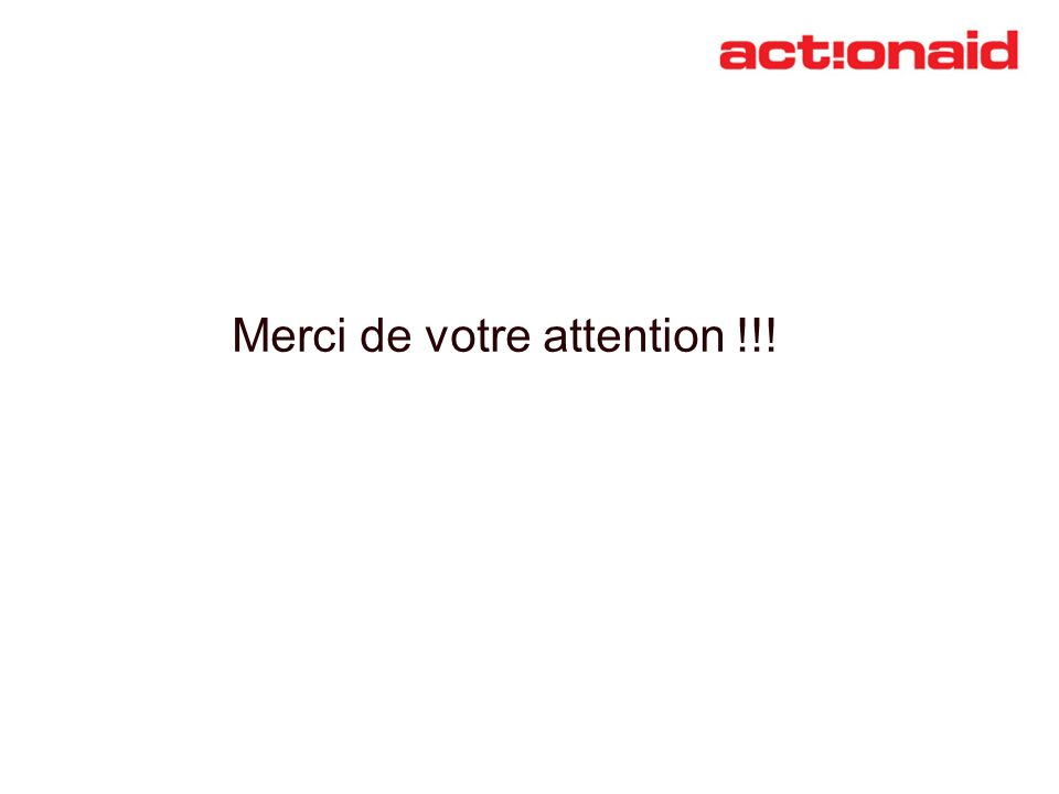 Merci de votre attention !!!
