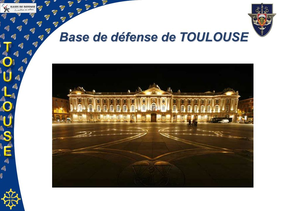Base de défense de TOULOUSE