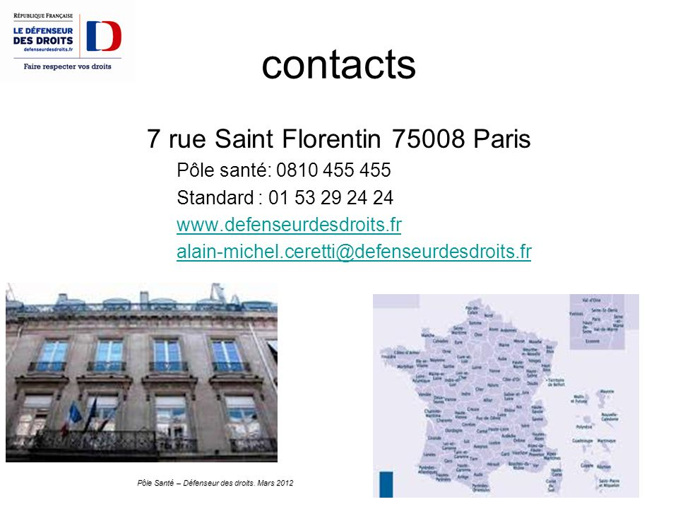 7 rue Saint Florentin Paris