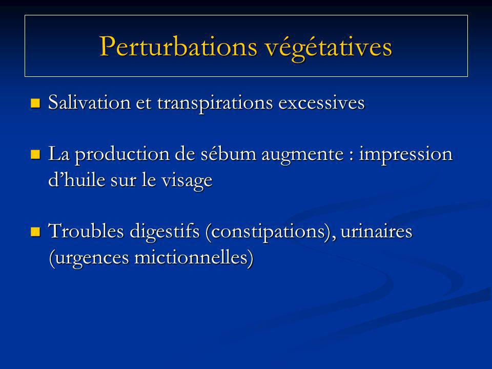 Perturbations végétatives