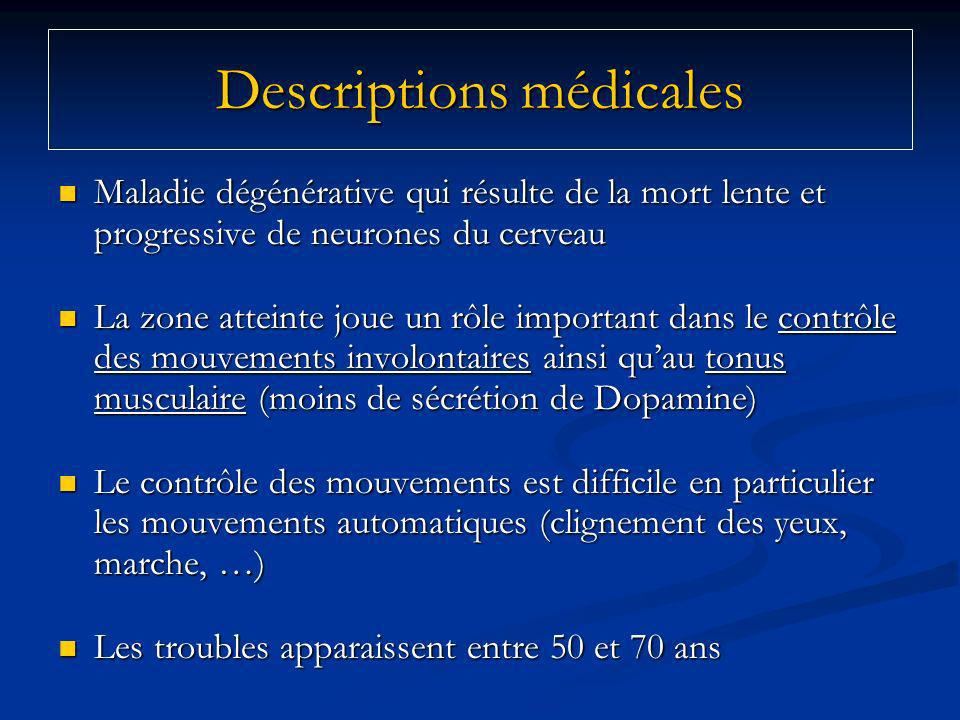 Descriptions médicales