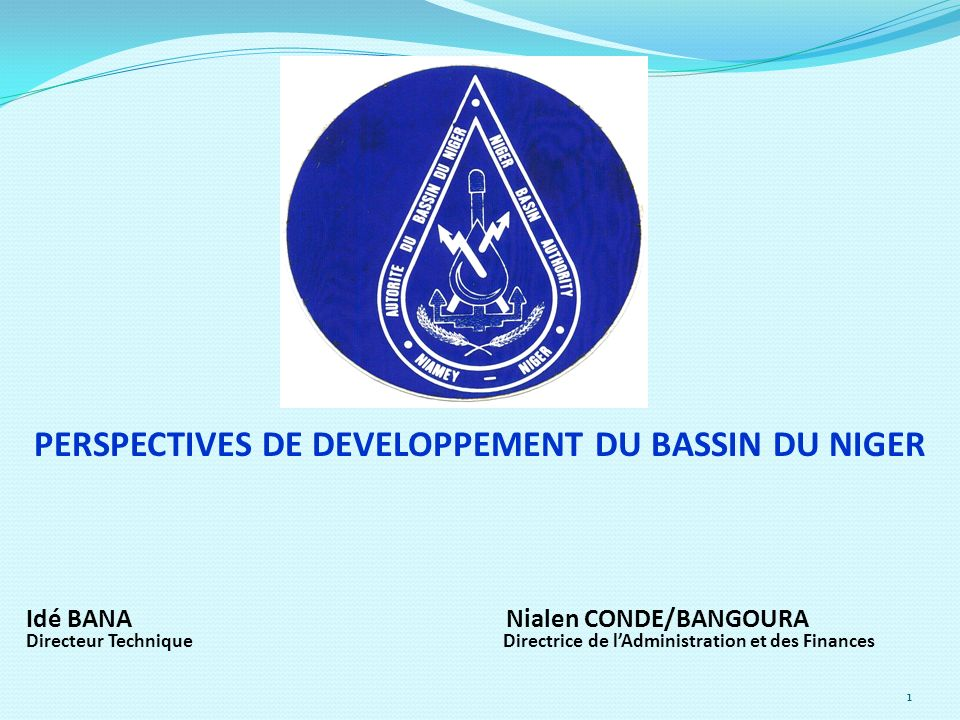 PERSPECTIVES DE DEVELOPPEMENT DU BASSIN DU NIGER