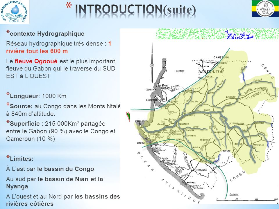 INTRODUCTION(suite) contexte Hydrographique