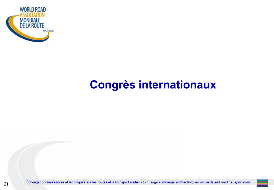 Congrès internationaux