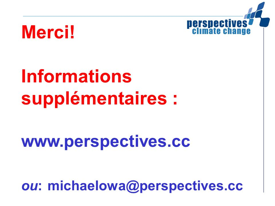Merci. Informations supplémentaires : www. perspectives