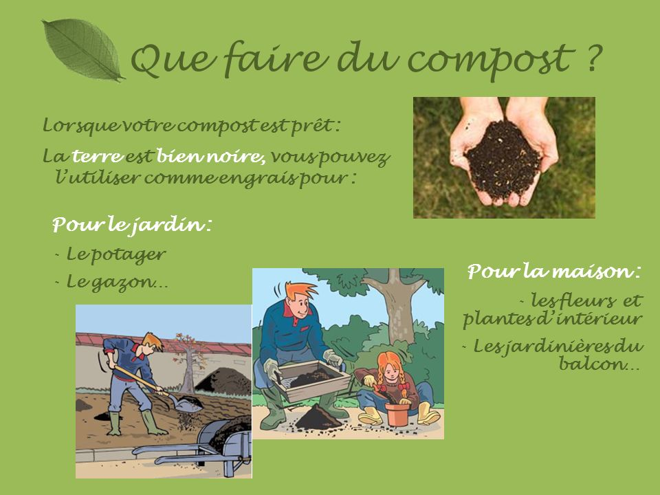 Le Compostage Présentation Réalisée Par Rachel Vanier Marie - Faire du composte maison