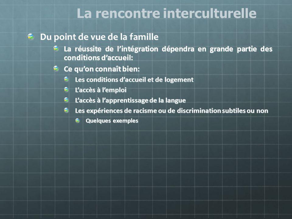 Rencontre interculturelle des familles de l'estrie