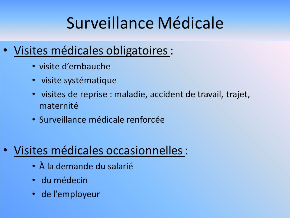 Surveillance Medicale Ppt Video Online Telecharger