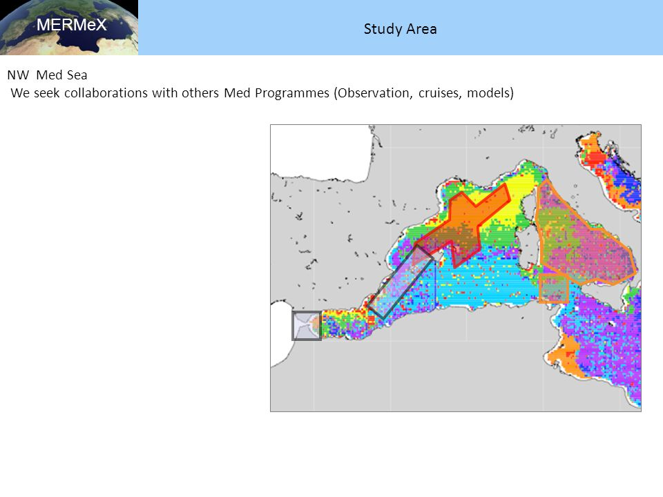 MERMeX Study Area NW Med Sea