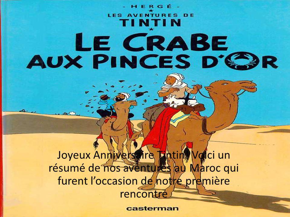 Joyeux Anniversaire Tintin Ppt Telecharger