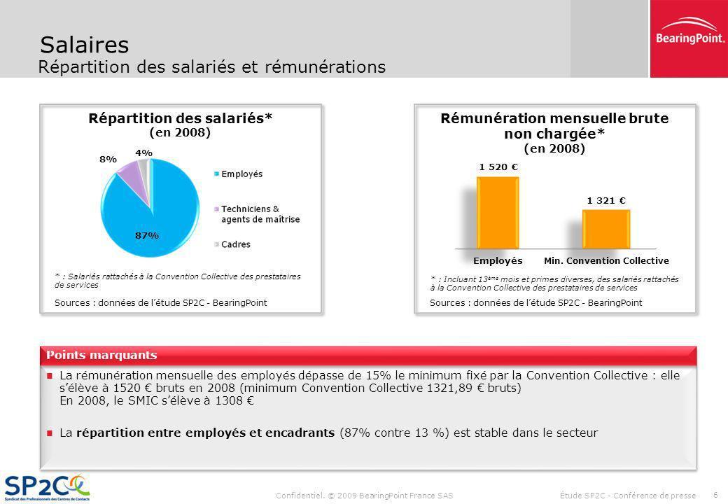 Rappel De La Demarche L Etude Bearingpoint Sp2c Syndicat