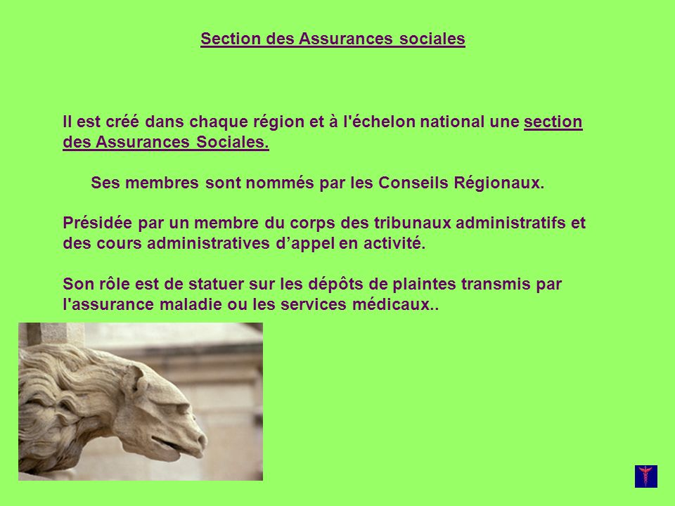 Section des Assurances sociales
