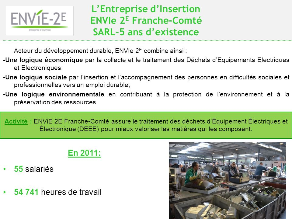 L'Entreprise d'Insertion