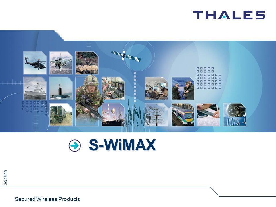 S-WiMAX Secured Wireless Products
