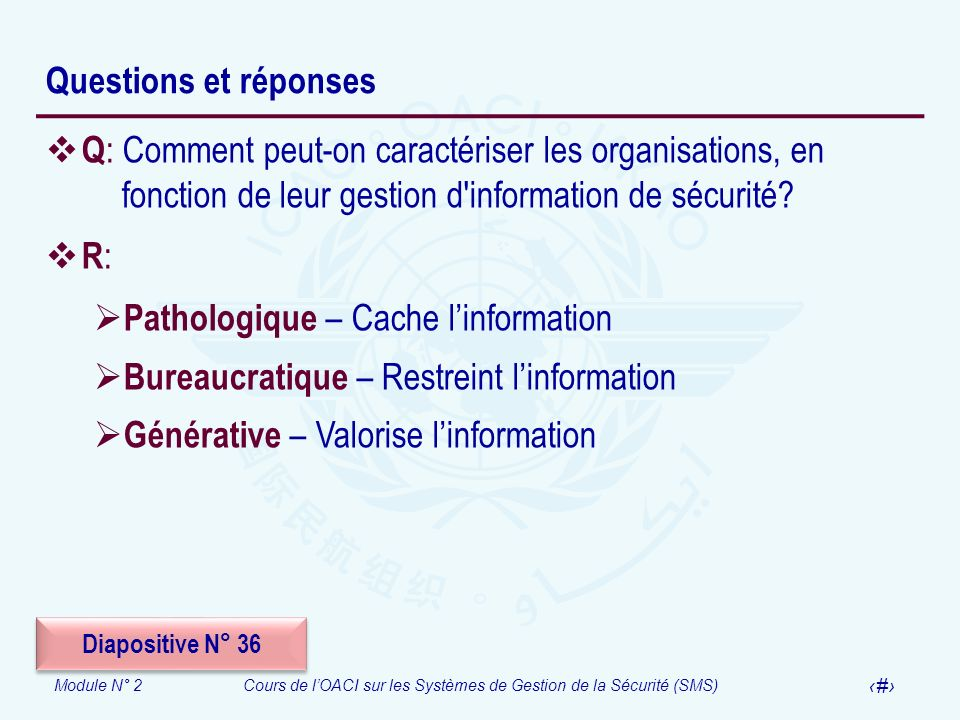 Pathologique – Cache l'information