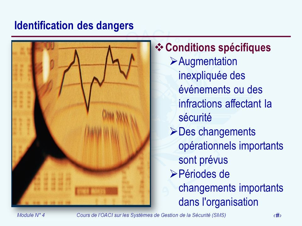Identification des dangers