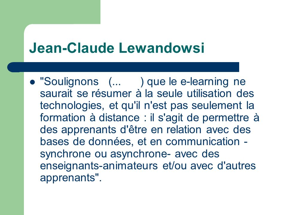 Jean-Claude Lewandowsi