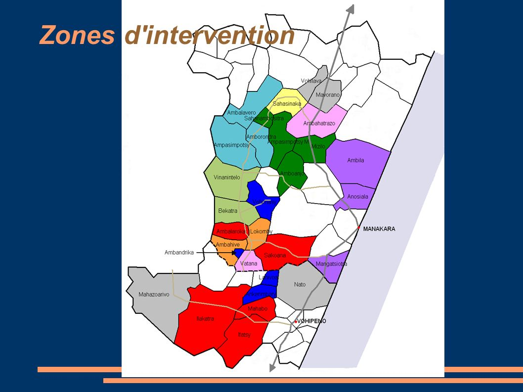 Zones d intervention