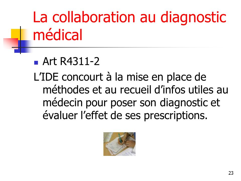 La collaboration au diagnostic médical