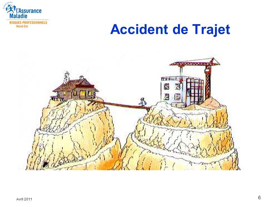 Accident Du Travail Accident De Trajet Maladie