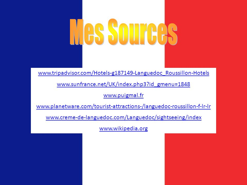 Mes Sources     id_gmenu=1848.