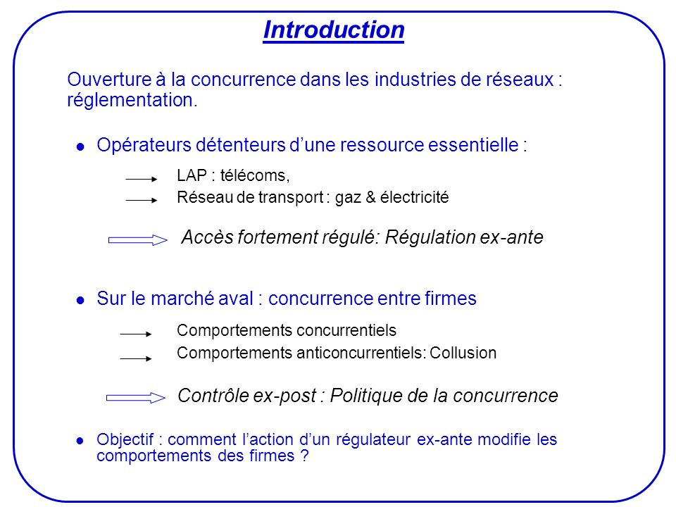 LAP : télécoms, Introduction