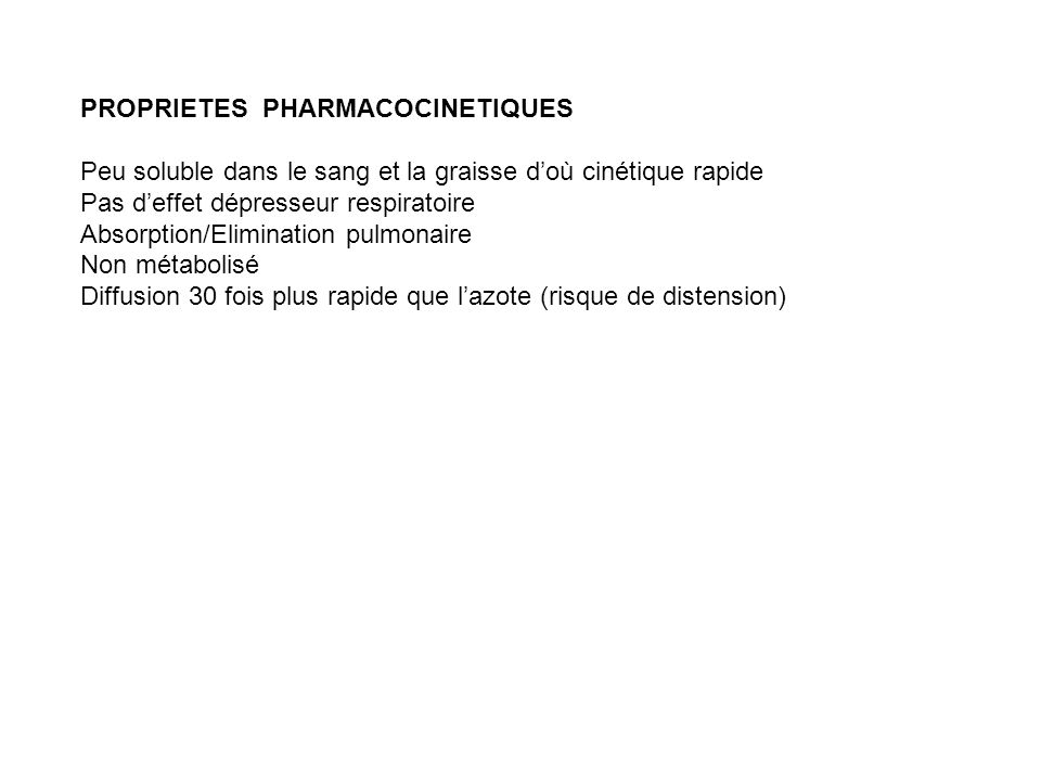 PROPRIETES PHARMACOCINETIQUES