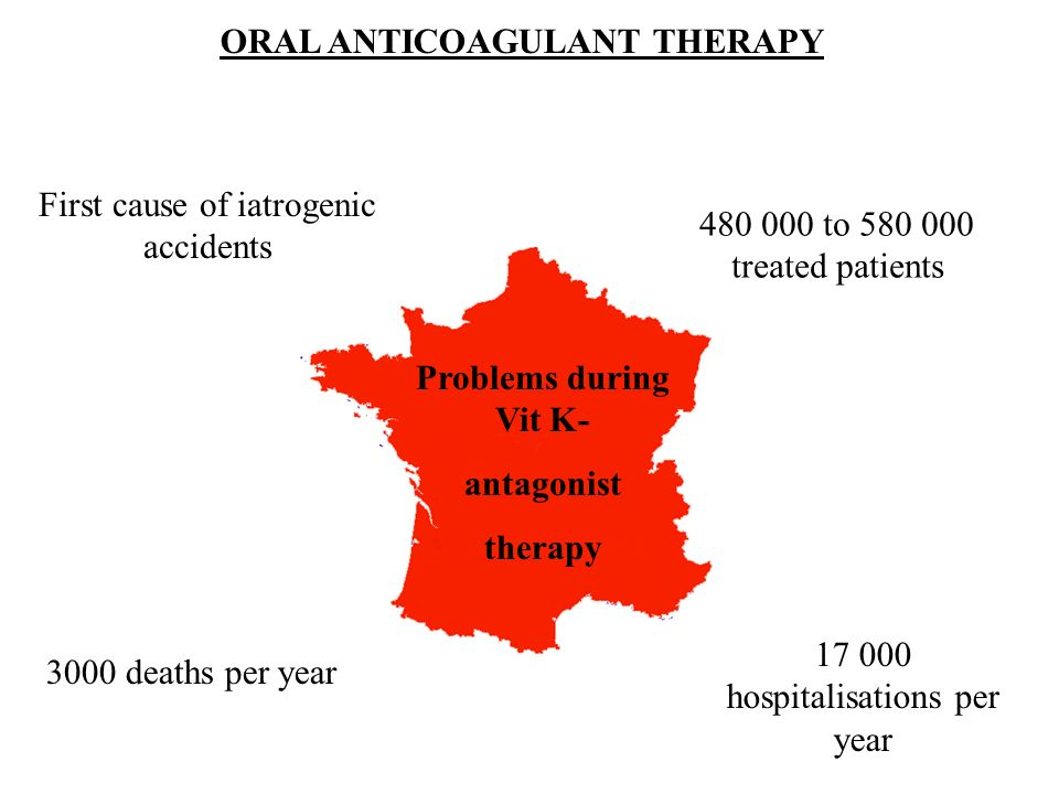 ORAL ANTICOAGULANT THERAPY