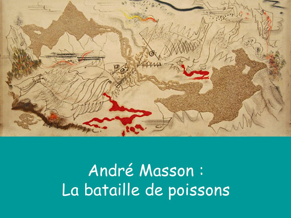 André Masson : La bataille de poissons